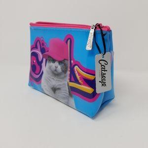 "Catseye of London- Small Bag Vibrant ""Cool Cat"""